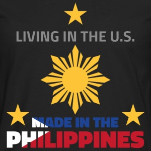 Made in the Philippines T-Shirts - Men's Premium Long Sleeve T-Shirt