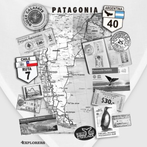 Patagonia Road Trip Map - Bandana