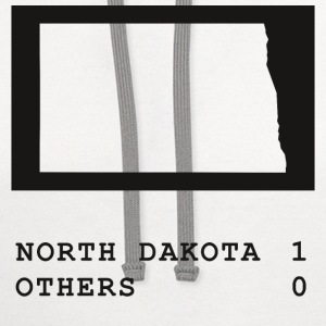 North Dakota always wins - Contrast Hoodie