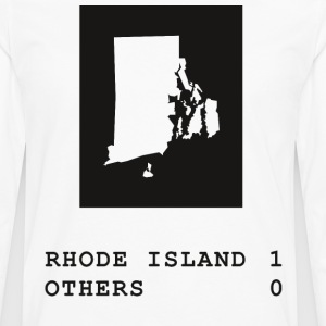 Rhode Island always wins - Men's Premium Long Sleeve T-Shirt