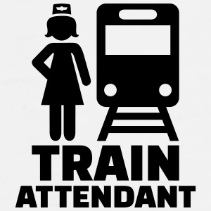 Train attendant Mugs & Drinkware - Men's Premium T-Shirt
