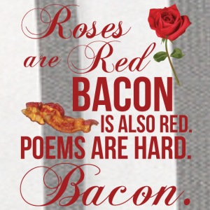 Roses Are Red... Bacon Is Also Red Phone & Tablet Cases - Contrast Hoodie