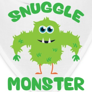 Snuggle Monster (Green) Phone & Tablet Cases - Bandana