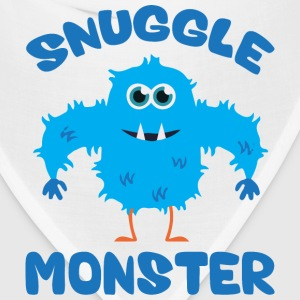 Snuggle Monster (Blue) T-Shirts - Bandana