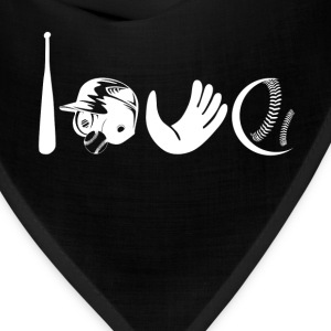 Love Softball Shirt - Bandana
