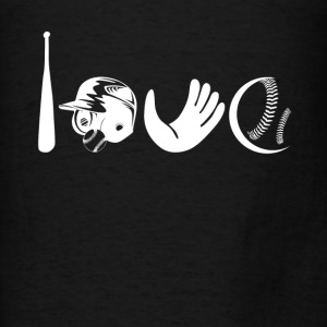 Love Softball Shirt - Men's T-Shirt