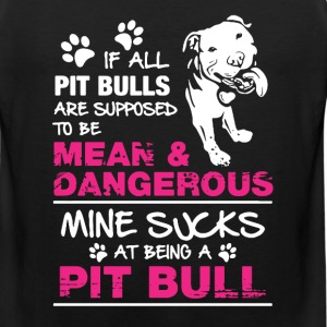 Pitbull Shirt - Men's Premium Tank