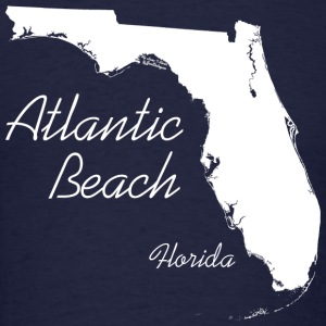 Atlantic Beach, Florida - FL, White Long Sleeve Shirts - Men's T-Shirt