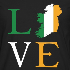 Love Ireland Shirt - Men's Premium Long Sleeve T-Shirt