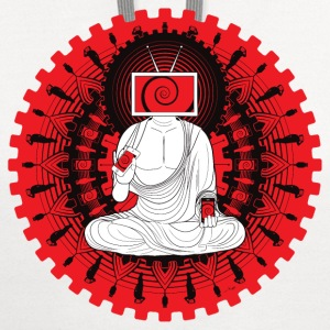Manipulated Buddha T-Shirts - Contrast Hoodie