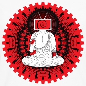 Manipulated Buddha T-Shirts - Men's Premium Long Sleeve T-Shirt