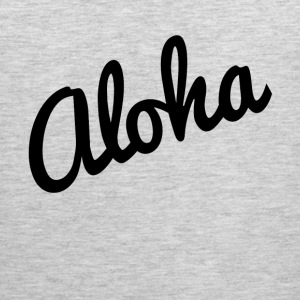 Aloha Hawaii Vacation Holiday Trip T-Shirts - Men's Premium Tank
