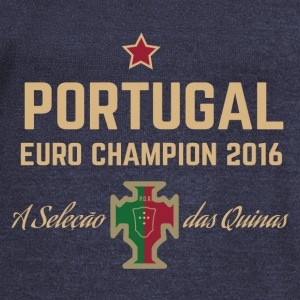 Portugal Soccer Football Euro 2016 Champion Shirts - Women's Wideneck Sweatshirt
