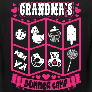 Grandmas Summer Camp T-Shirts - Men's Premium Tank