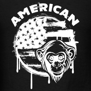 American Monkey Shirt - Men's T-Shirt