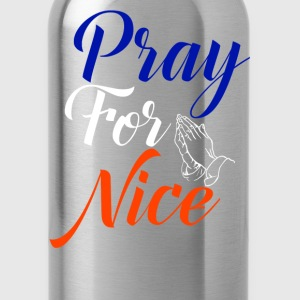 Pray For Nice - Water Bottle