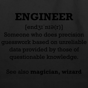 Engineer wizard shirt - Eco-Friendly Cotton Tote