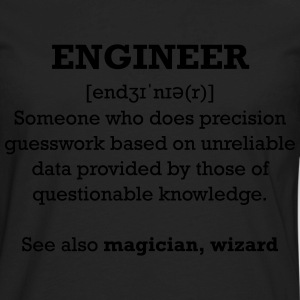 Engineer wizard shirt - Men's Premium Long Sleeve T-Shirt