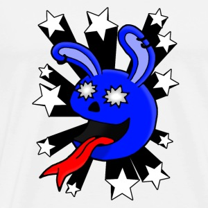 Star Struck Rabbit - Men's Premium T-Shirt