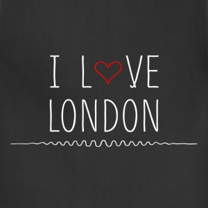I Love London T-Shirts - Adjustable Apron