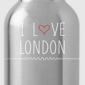 I Love London T-Shirts - Water Bottle