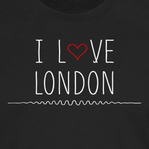 I Love London T-Shirts - Men's Premium Long Sleeve T-Shirt