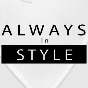 ALWAYS IN STYLE T-Shirts - Bandana