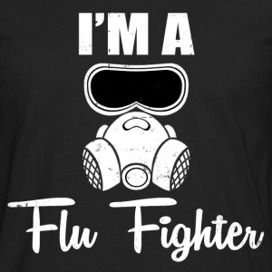 FLU FIGHTER - Men's Premium Long Sleeve T-Shirt