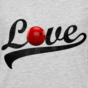 love bowling - Men's Premium Long Sleeve T-Shirt