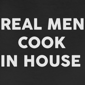 Real men Cook in house T-Shirts - Leggings
