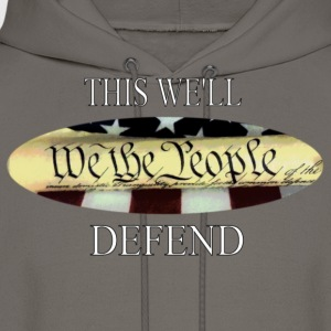 This We'll Defend T shirt - Men's Hoodie