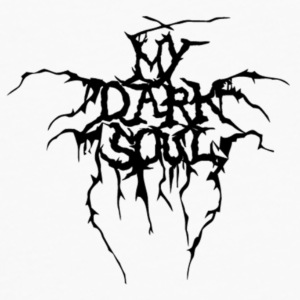 My Dark Soul logo pin - Men's Premium Long Sleeve T-Shirt