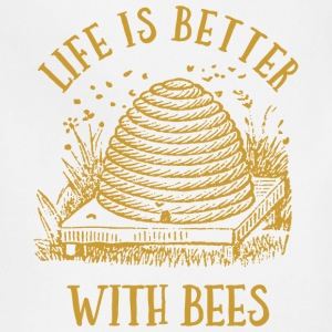 Life's Better With Bees T-Shirts - Adjustable Apron