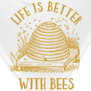 Life's Better With Bees T-Shirts - Bandana