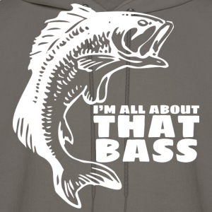 im all about that bass - - Men's Hoodie