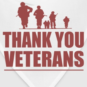 THANK YOU VETERANS - Bandana