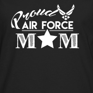 Proud Air Force Mom - Men's Premium Long Sleeve T-Shirt