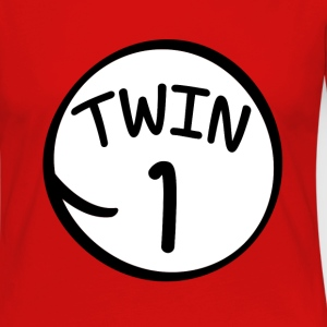 Twin 1 shirt - Women's Premium Long Sleeve T-Shirt