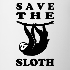 SAVE THE SLOTH - Coffee/Tea Mug