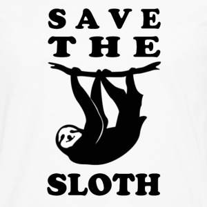 SAVE THE SLOTH - Men's Premium Long Sleeve T-Shirt
