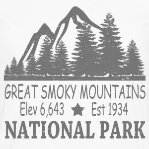 GREAT SMOKY MOUNTAIN NATIONAL PARK - Men's Premium Long Sleeve T-Shirt