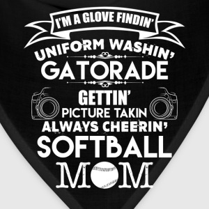 Softball Mom Shirts - Bandana