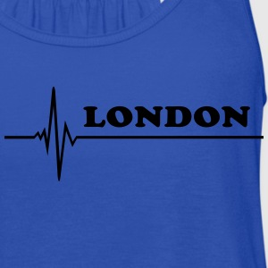 London T-Shirts - Women's Flowy Tank Top by Bella