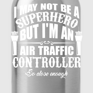 Superhero Air Traffic Controller - Water Bottle