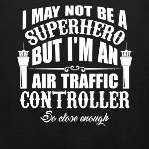 Superhero Air Traffic Controller - Men's Premium Tank