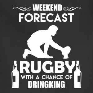 Weekend Forecast Rugby - Adjustable Apron