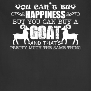 Happiness Goats T-shirt - Adjustable Apron