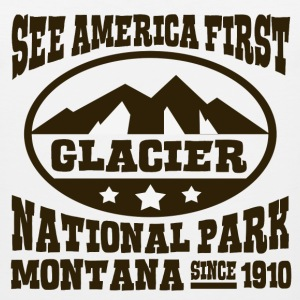 GLACIER NATIONAL PARK MONTANA - Men's Premium Tank