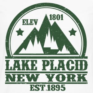 LAKE PLACID NEW YORK - Men's Premium Long Sleeve T-Shirt