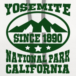 YOSEMITE NATIONAL PARK CALIFORNIA - Contrast Hoodie